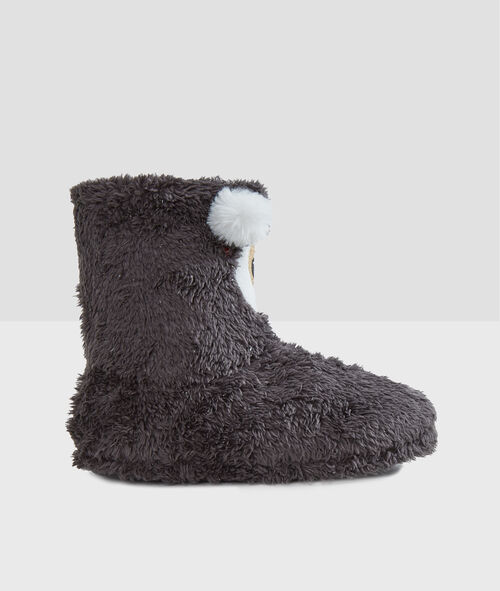 Chaussons bottines ours