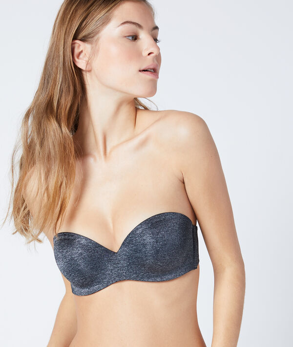 Bandeau push-up, bonnet B
