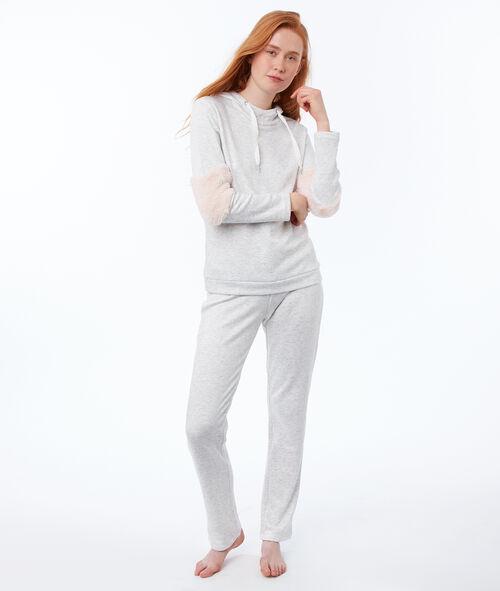 Pantalon homewear chiné