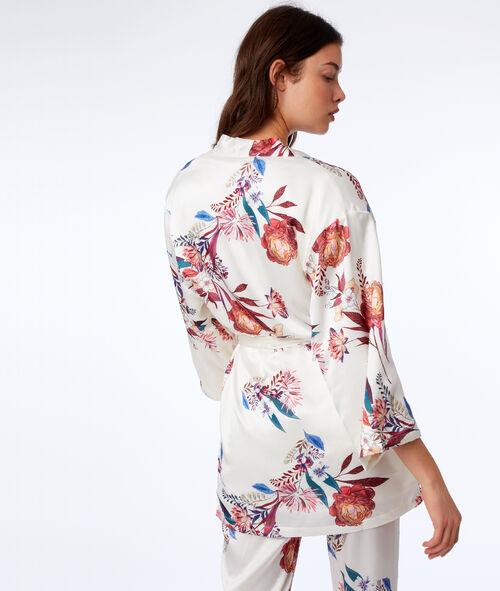 Kimono doublé polaire