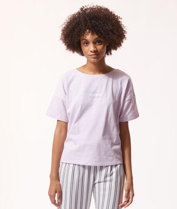 """T-shirt """"Be différent"""";${refinementColor}"""