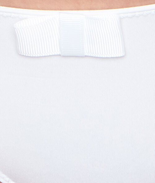 Culotte micro et dentelle