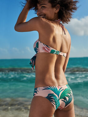 Shorty de bain multicolore.