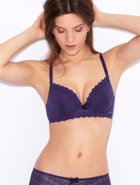 Soutien-gorge n°1 - magic up violet.