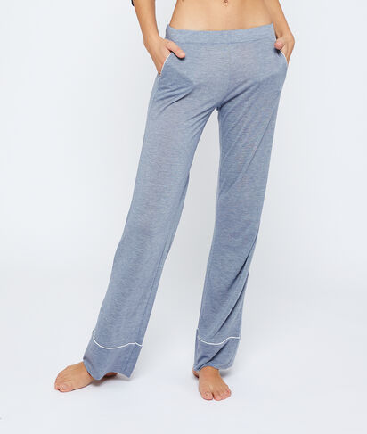 Pantalon large uni;${refinementColor}