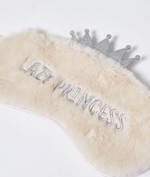 """Masque de nuit fourré """"Lazy Princess"""""""