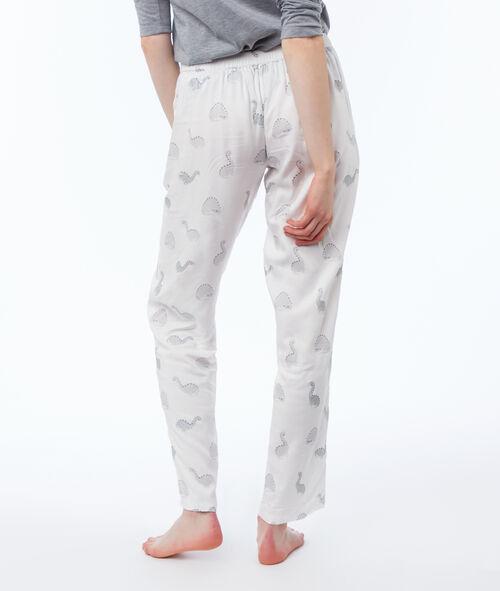 Pyjama 3 pièces veste doudou