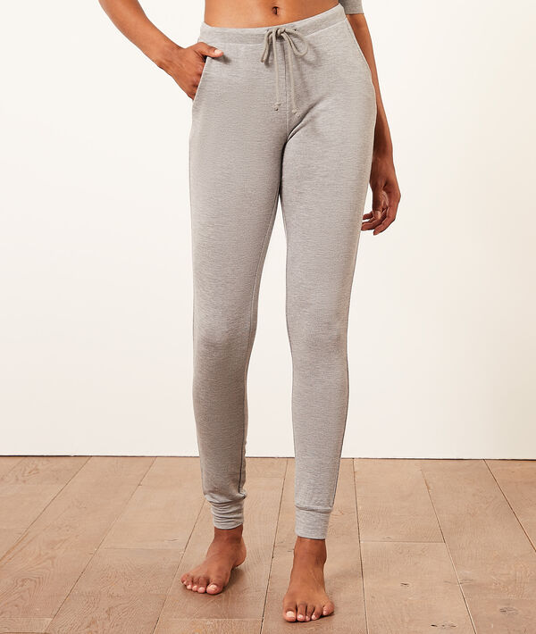 Pantalon jogger de pyjama;${refinementColor}