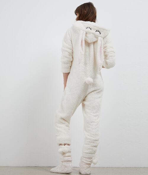 Combinaison pyjama lapin