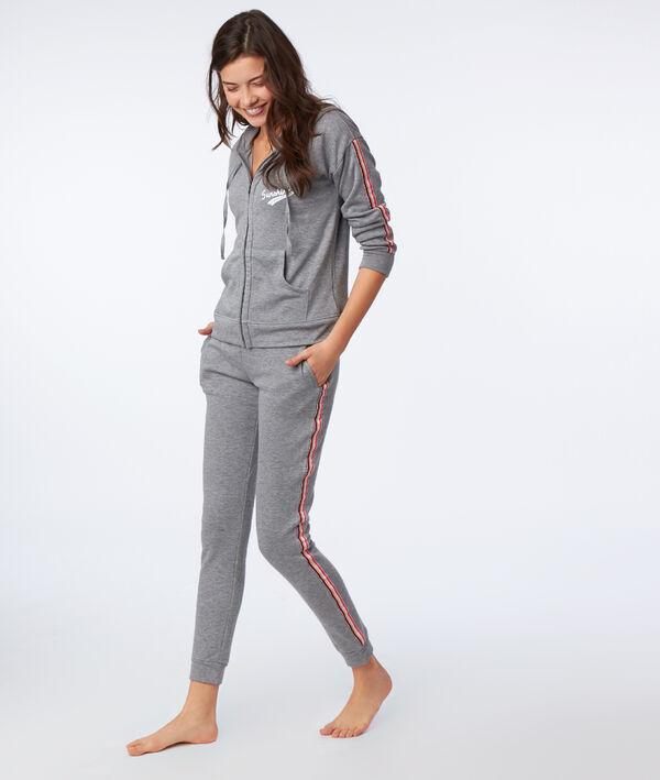 Veste homewear à capuche