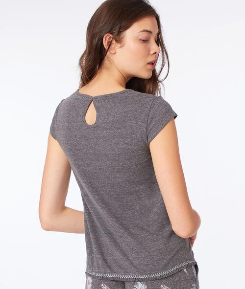 T-shirt imprimé oiseau