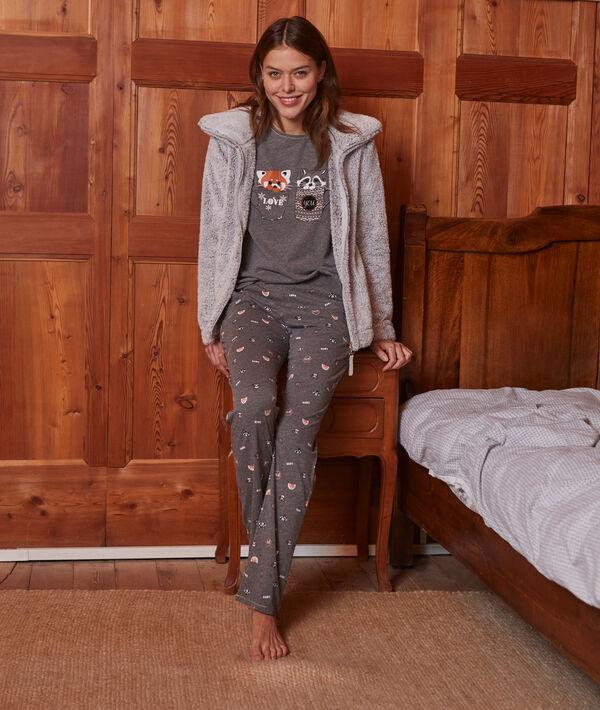 "Pyjama 3 pièces ""Love you"""