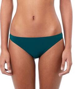 Bas de bikini simple vert canard.