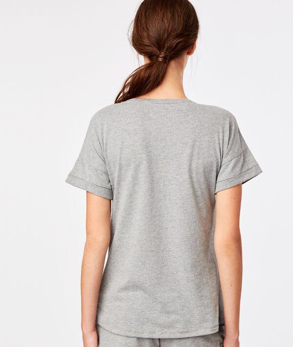 "T-shirt ""Panda cat"";${refinementColor}"