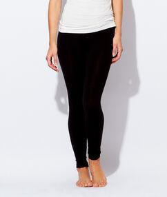 Leggings ultra fin, ultra léger, ultra chaud noir.