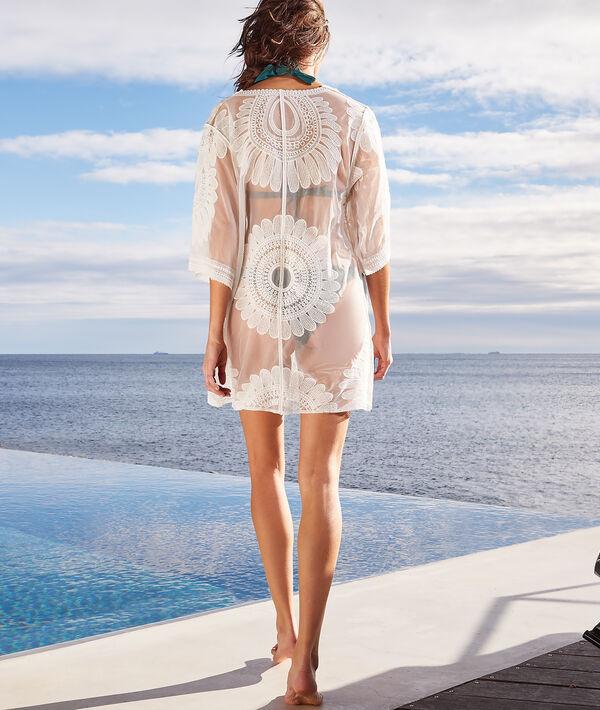 Kimono de plage détails graphiques;${refinementColor}