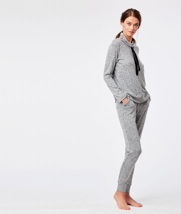 Pantalon homewear noué