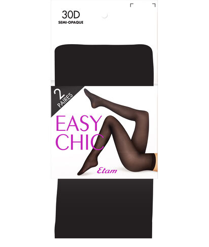 30D EASY CHIC 2PP - PACK DE 2 COLLANTS