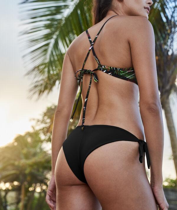 Bas de bikini brésilien - High leg