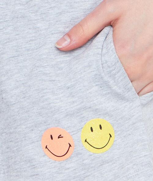Short imprimé Smiley
