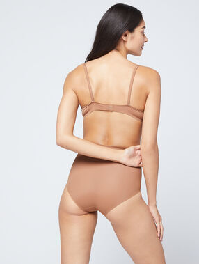 Culotte taille haute - niveau 3 : silhouette remodelée bronze.