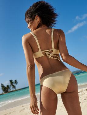 Bas de bikini simple dore.
