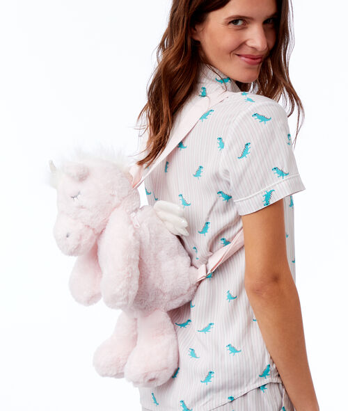 Sac à dos range-pyjama dinosaure