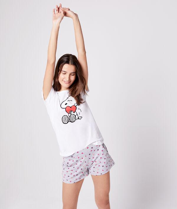 T-shirt imprimé snoopy
