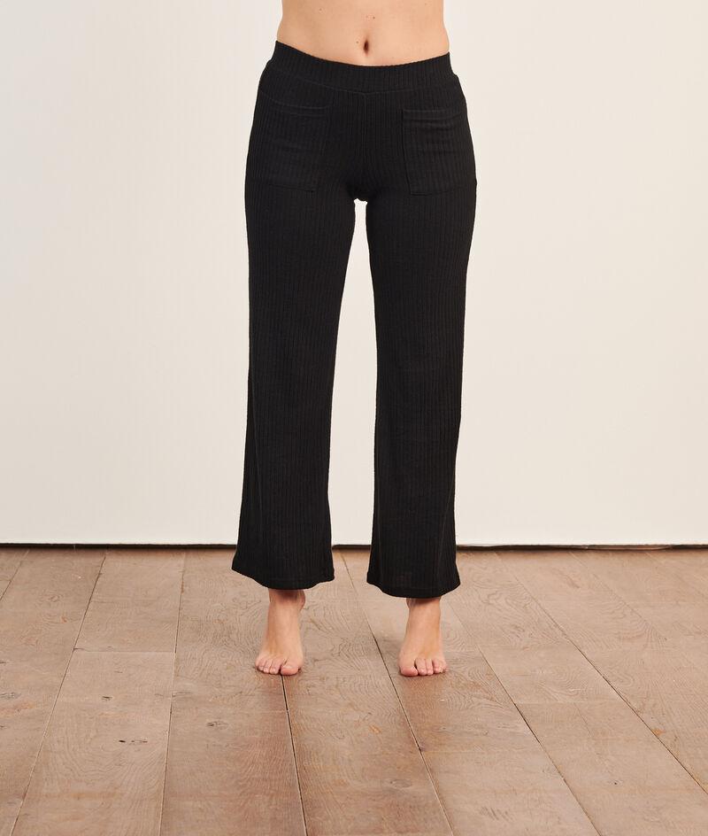 Pantalon côtelé loungewear;${refinementColor}