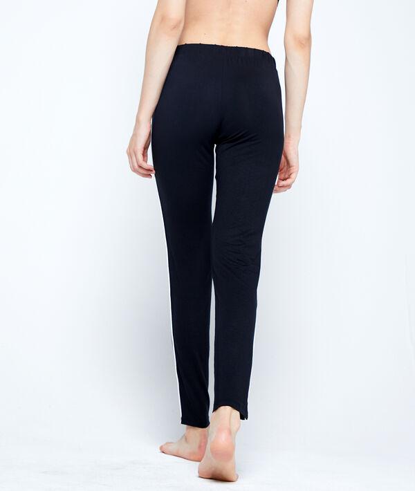 Pantalon de pyjama à bandes latérales