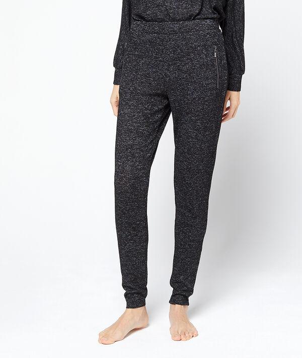 Pantalon loungewear chiné