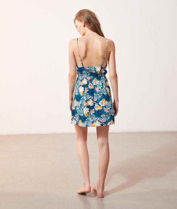 Robe imprimé floral;${refinementColor}