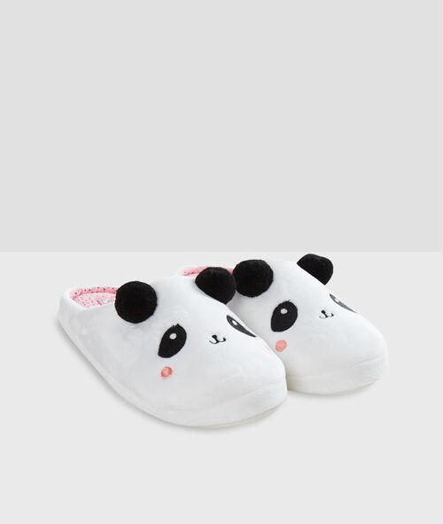 Chaussons panda