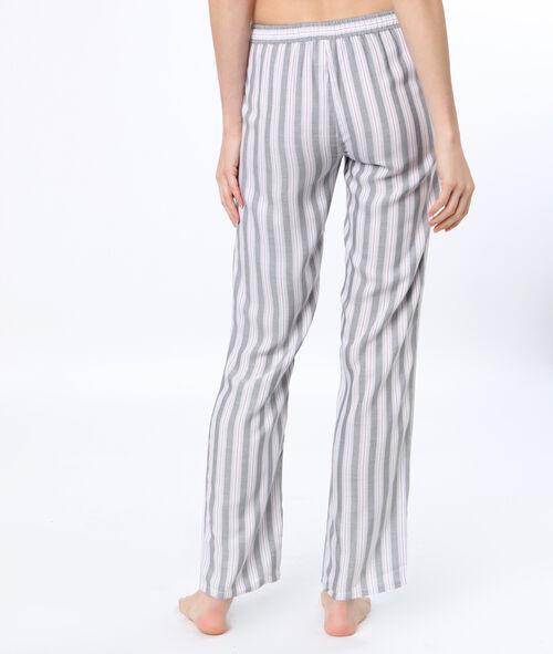 Pantalon de pyjama rayé