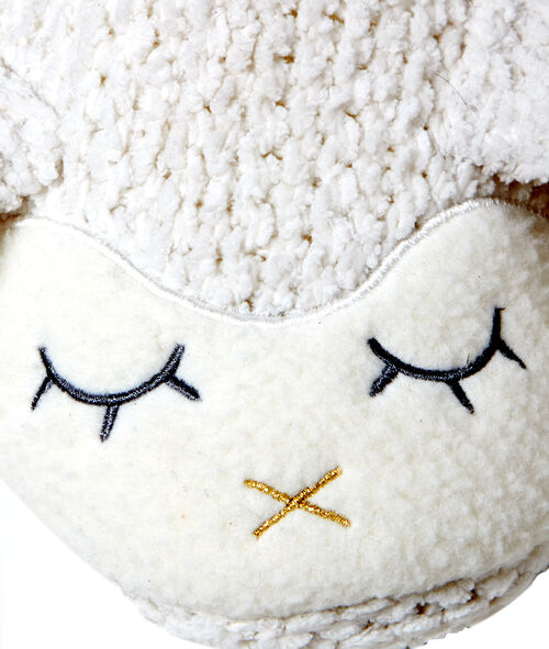 Mules mouton en tricot