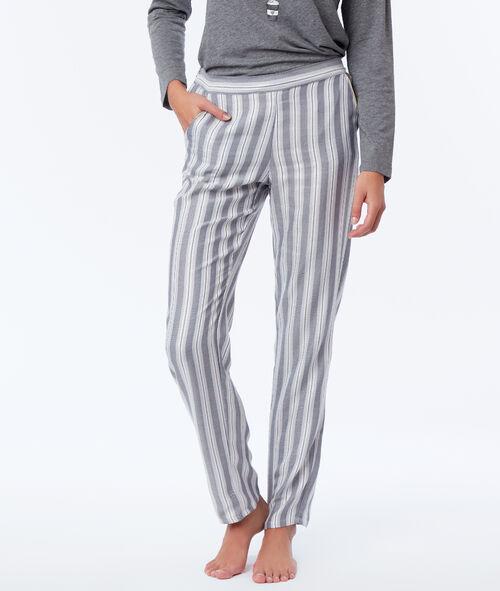 Pantalon de pyjama à rayures