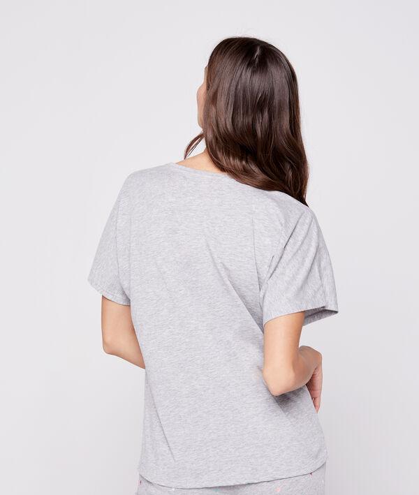 T-shirt imprimé ananas