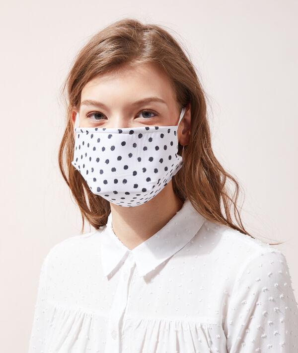 Masque de protection à pois UNS1;${refinementColor}
