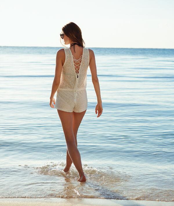 Combi-short de plage, laçages