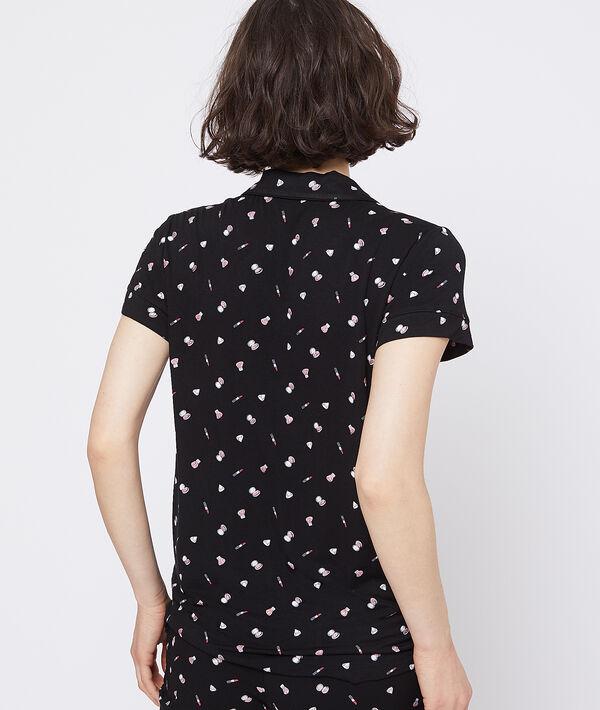 Chemise de pyjama à manches courtes