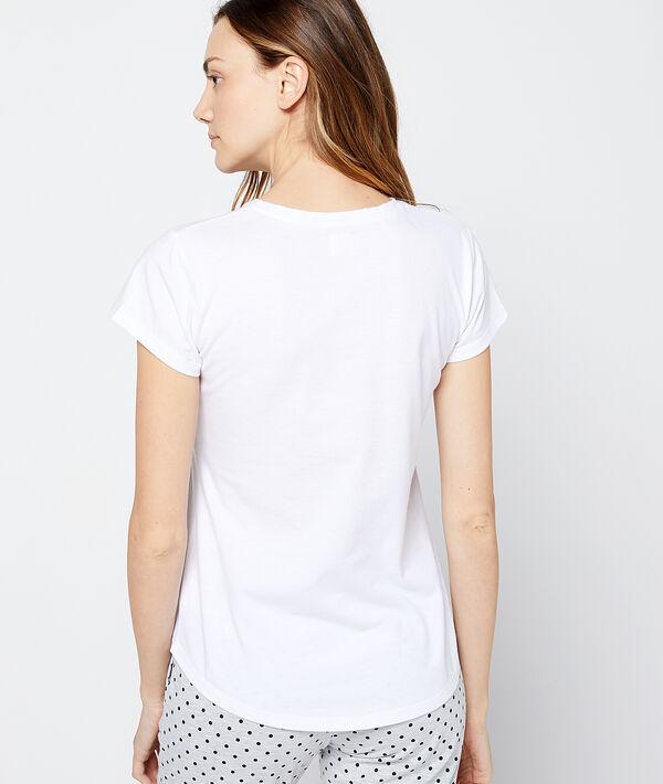 """T-shirt imprimé """"La tête dans les nuages"""""""