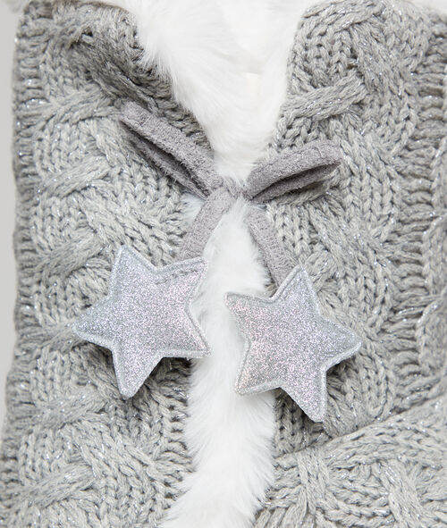 Chaussons bottines étoiles