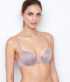Soutien-gorge n°1 - push up taupe.