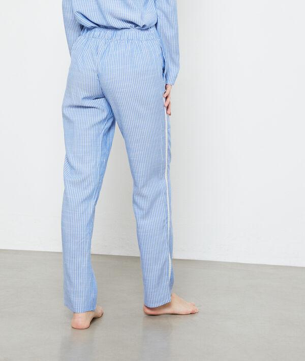 Pantalon rayé à bandes latérales;${refinementColor}