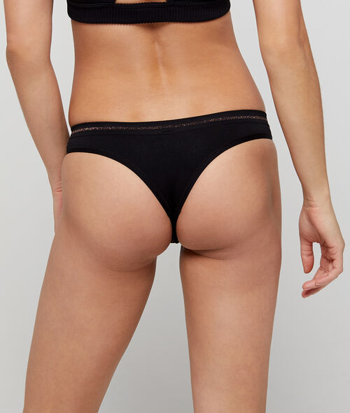 Tanga seamless, coutures invisibles