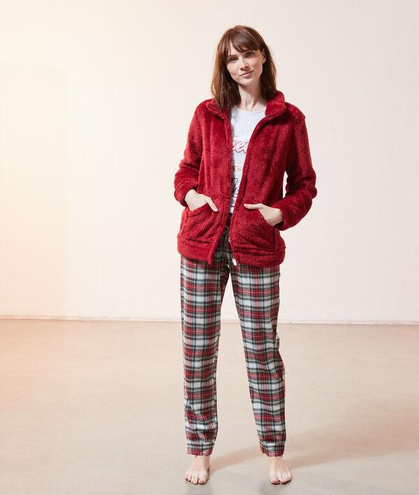 """Pyjama 3 pièces """"Need more sleep"""", veste polaire;${refinementColor}"""