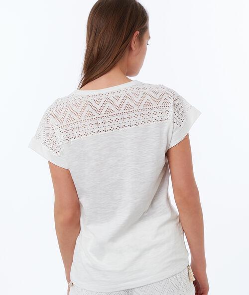 T-shirt imprimé ethnique