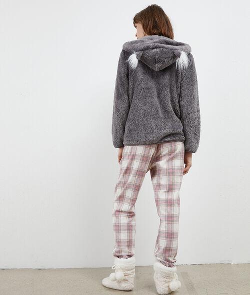 "Pyjama 3 pièces Panda ""With Love"""