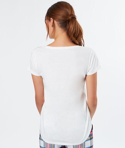 """T-shirt à message """"Confidentielles"""""""