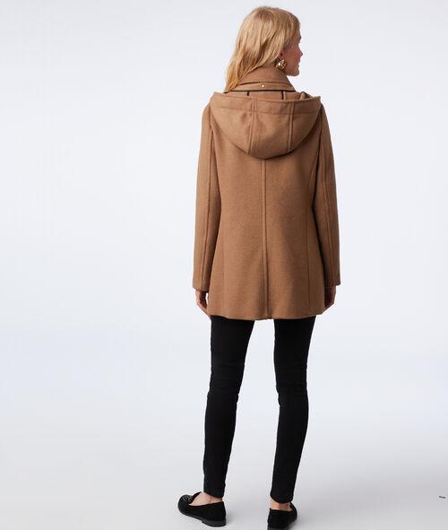 Manteau 3/4 à capuche